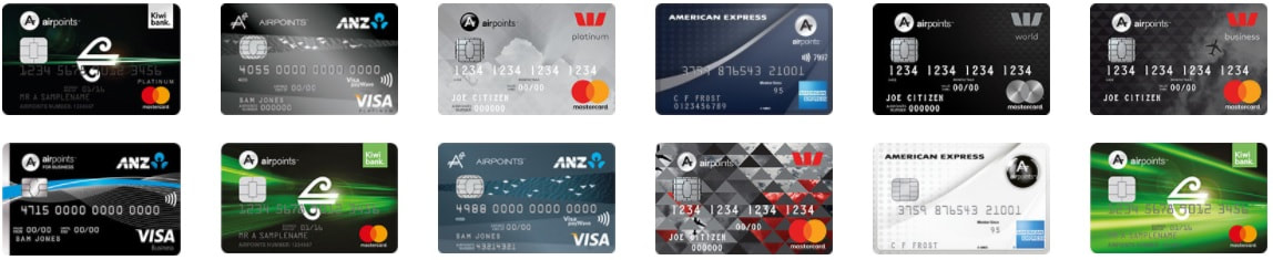 air new zealand credit cards