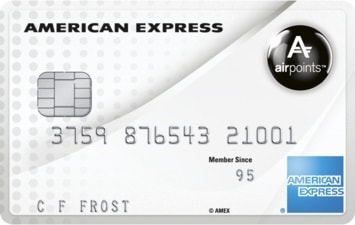american express Airpoints free credit card