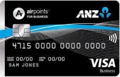 anz airpoints business card